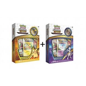 CARTE A COLLECTIONNER Pokemon TCG: Legends Brillant Mewtwo & Pikachu Pin