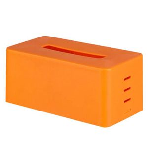 BOITE DE RANGEMENT Boîte de rangement de tissu pour Orange STO319