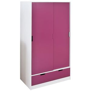 armoire enfants rouge achat vente armoire enfants. Black Bedroom Furniture Sets. Home Design Ideas