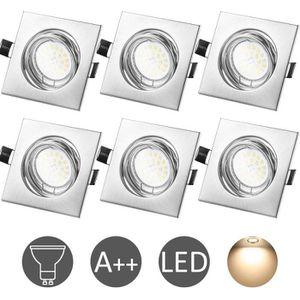 SPOTS - LIGNE DE SPOTS WOWATT Lot de 6 Spot LED encastrable complet orien