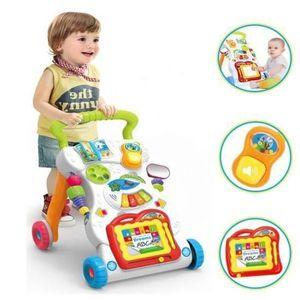 CONSOLE ÉDUCATIVE Bébé enfants Cartoon Walker poussette multifonctio