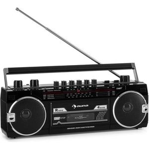 RADIO CD CASSETTE Radio cassette - auna Duke MKII  - avec radio FM ,