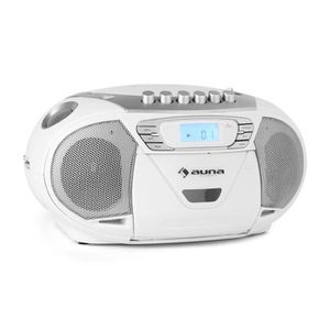 RADIO CD CASSETTE Auna KrissKross Lecteur CD-K7 portable MP3 CD