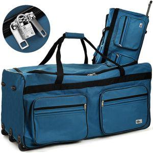 SAC DE VOYAGE Grand sac de voyage XXL trolley 160L avec 3 roulet