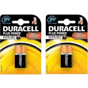 PILES DURACELL Pile Duralock 9V x2 Plus Power Block (6LR