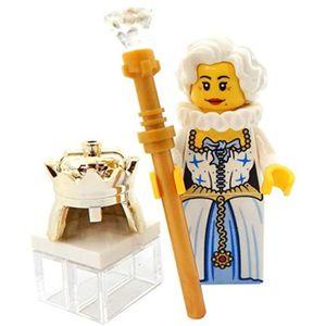 ASSEMBLAGE CONSTRUCTION Jeu D'Assemblage LEGO YSM6D Reine d'Angleterre ave