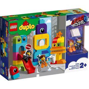 ASSEMBLAGE CONSTRUCTION LEGO® DUPLO® Movie 10895 Les visiteurs de la planè