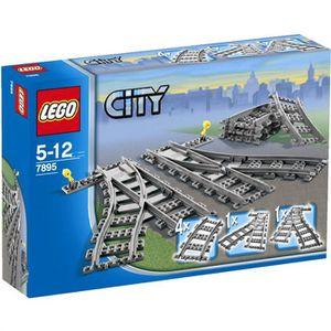 ASSEMBLAGE CONSTRUCTION LEGO® City 7895 Les Aiguillages