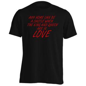 T-SHIRT T-shirt -Toute maison peut être un château - King