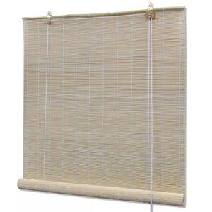 STORE DE FENÊTRE Store enrouleur bambou naturel 140 x 160 cm