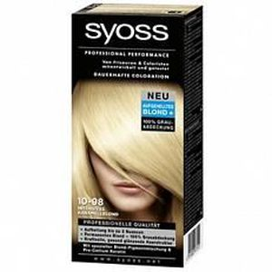 coloration syoss coloration 10 98 blond caramel intense - Coloration Syoss