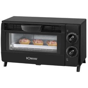 FOUR À PIZZA Fours Mini-four 800 W noir MB 2245 CB