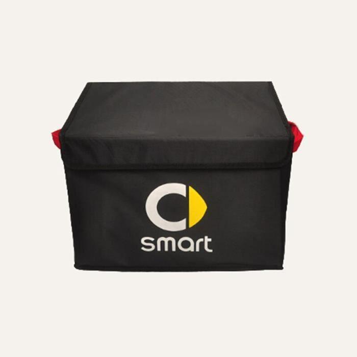 Boîte de rangement pour coffre de voiture, panier pliable, organisateur de rangement intérieur pour Smart 451 453 fortwo [4F8C950]