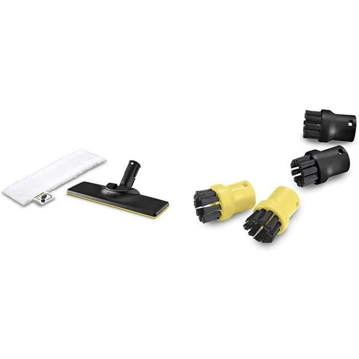 SET ACCESSOIRE CUISINEKaumlrcher Set de buse sol accessoire pour nettoyeurs vapeur Easy Fix Kaumlrcher Set de brosse ronde acce85
