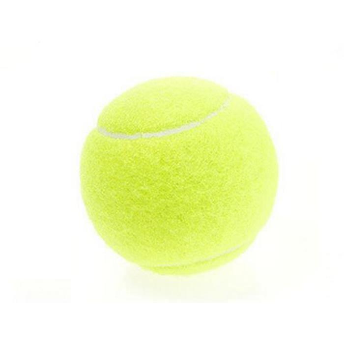 1 Pcs Balles de tennis à grande élasticité Pour entraînement professionnel, sports de plein a