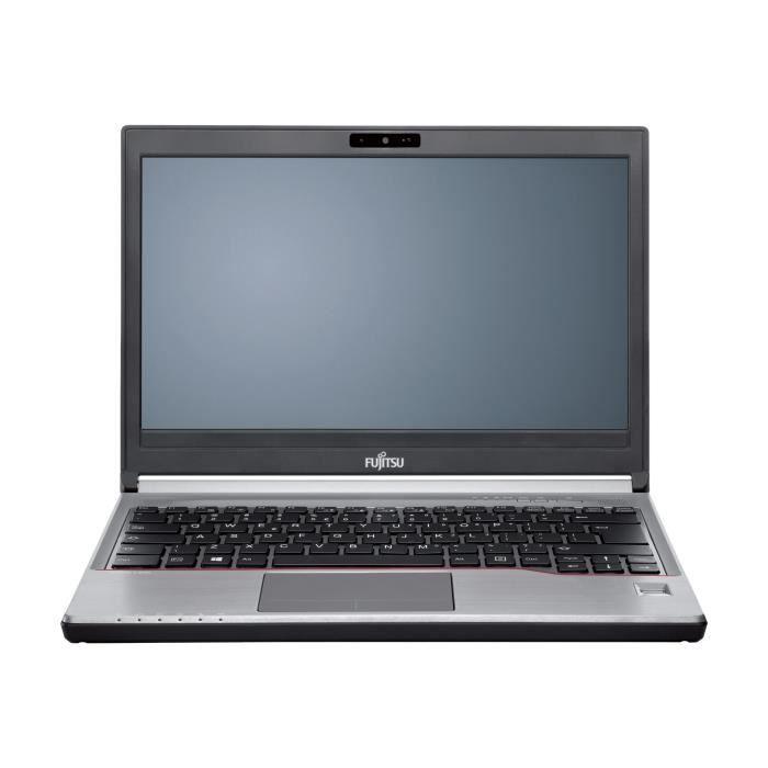 Fujitsu LIFEBOOK E736 - Core i5 6200U - 2.3 GHz - Win 7 Pro 64 bits (comprend Licence Windows 10 Pro 64 bits) - 8 Go RAM