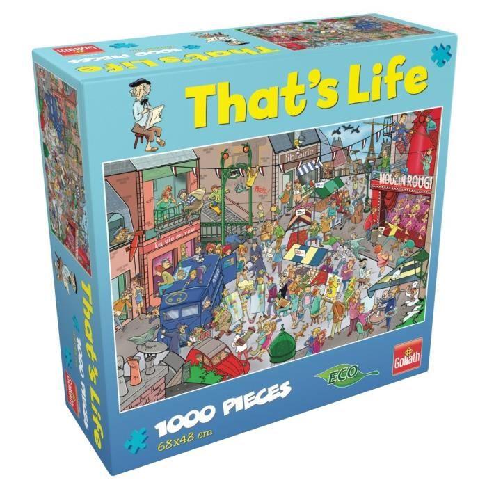 GOLIATH Puzzle That's Life Paris