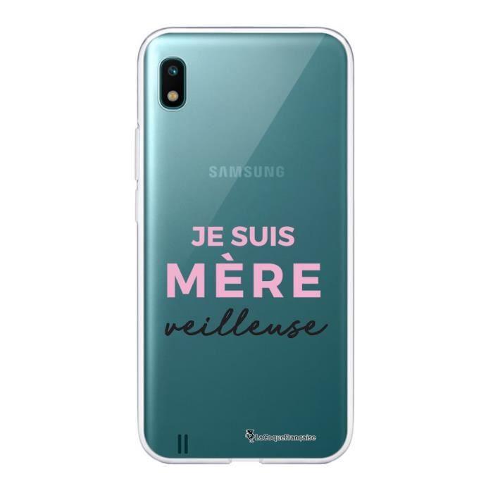 Coque Samsung Galaxy A10 360 intégrale transparente Mère Veilleuse Ecriture Tendance Design La Coque Francaise