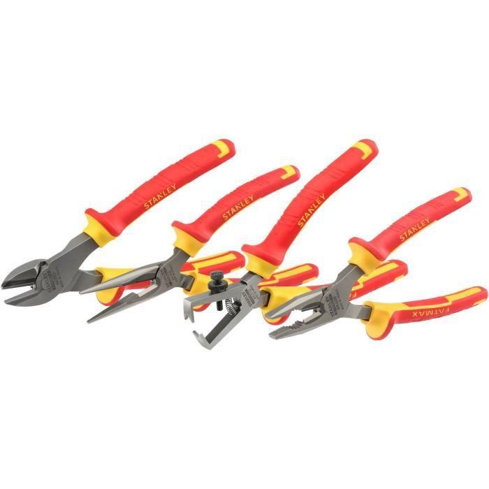 Coffret de pinces isolées 1000 V MAXSTEEL STANLEY