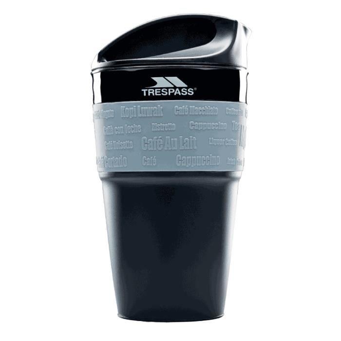 Trespass - Mug de voyage en silicone COFFEE