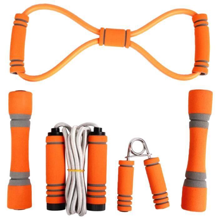 5 pcs Fitness Supplies Pratique Durable Utile Sport Accessoire Equipment Exercise pour Inside Home CORDE A SAUTER
