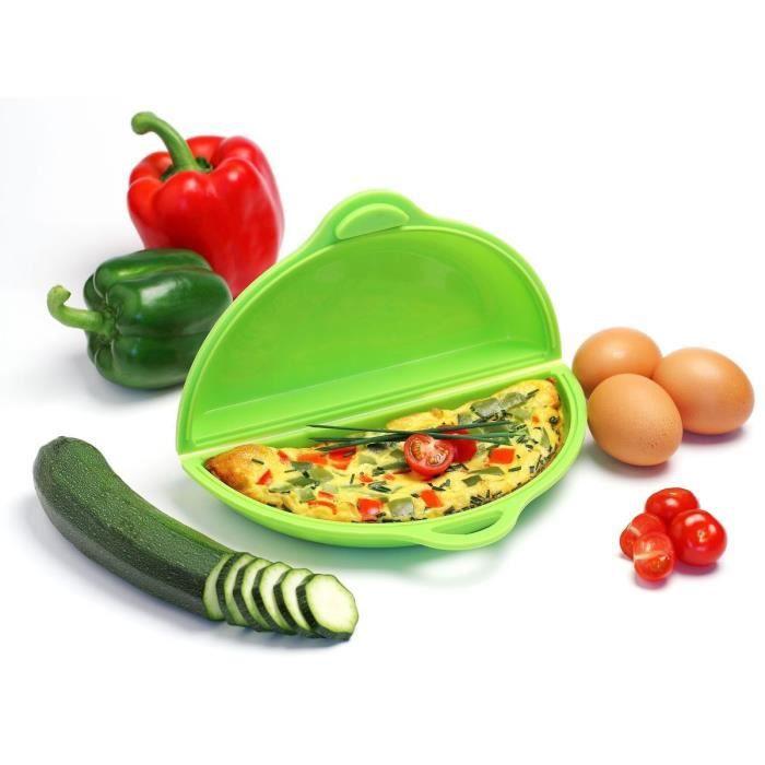 YOKO DESIGN Cuit-Omelette en Silicone Platinium