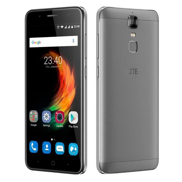 ZTE Blade A610 Plus, 14 cm (5.5-), 32 Go, 13 MP, Android, 6.0 Marshmallow, Argent