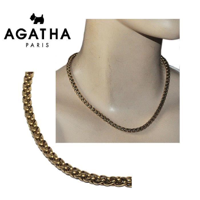 collier femme agatha