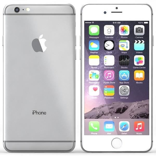 apple iphone 6 plus 16gb reconditionn a neuf argent achat smartphone pas cher avis et. Black Bedroom Furniture Sets. Home Design Ideas