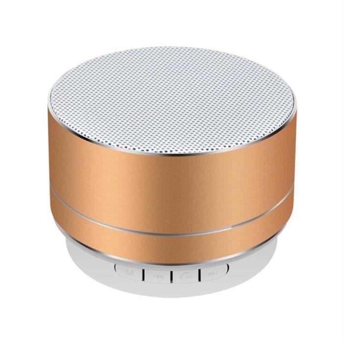 ENCEINTE NOMADE En Alliage D'aluminium Sans Fil Bluetooth Haut-par