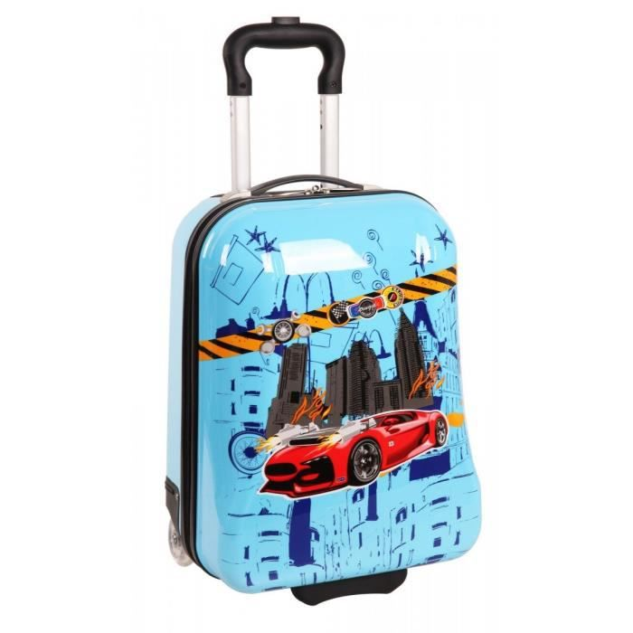 valise cabine enfant madisson voiture bleu bleu achat vente valise bagage 3662796038895. Black Bedroom Furniture Sets. Home Design Ideas