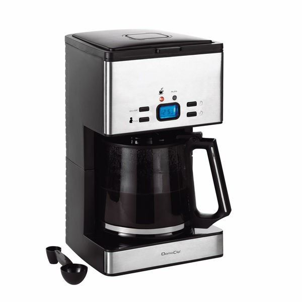 cafeti re programmable 1 8l 1000w domoclip re achat. Black Bedroom Furniture Sets. Home Design Ideas