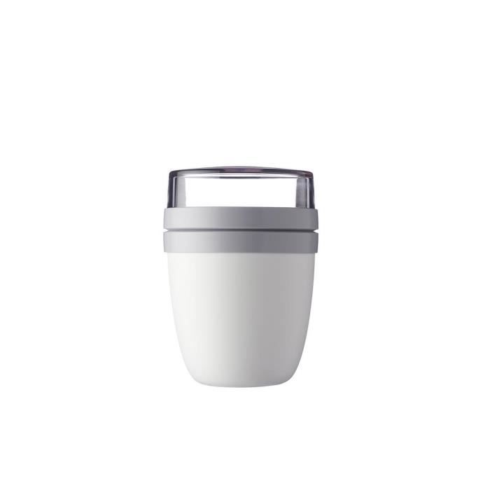 LUNCH BOX - BENTO  Mepal - Boîte déjeuner Ellipse - blanc