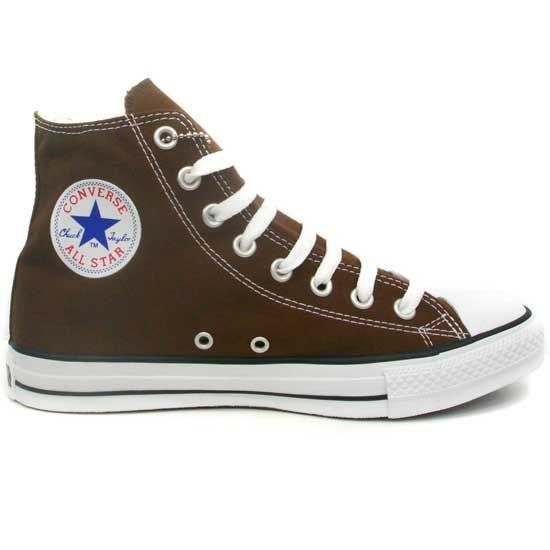 3802aa71dcbda Converse - All Star Hi Marron Chocolat - Achat   Vente basket ...