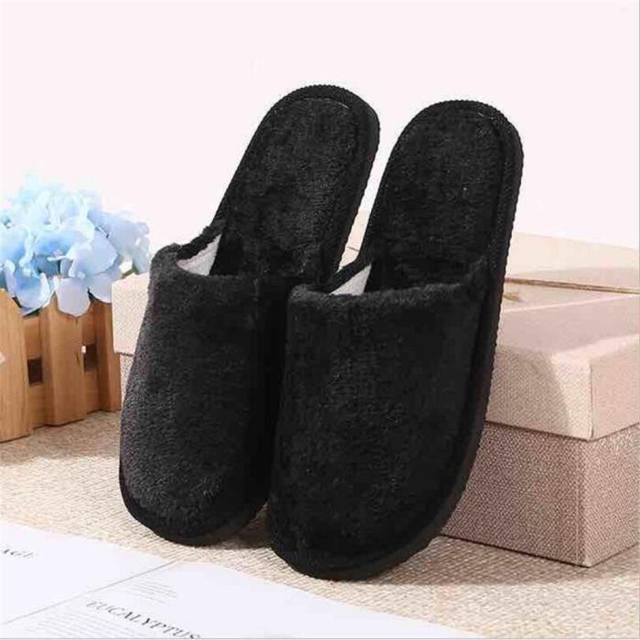 Slip Mens sur les chaussons noir rayé confortable Zedzzz 8 9 10 11 12 13 14