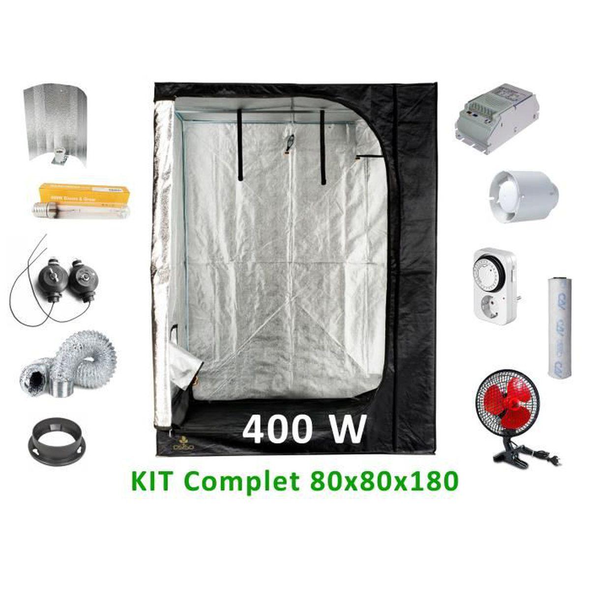 Kit de culture Complet 9w 9 cm - Achat / Vente chambre de
