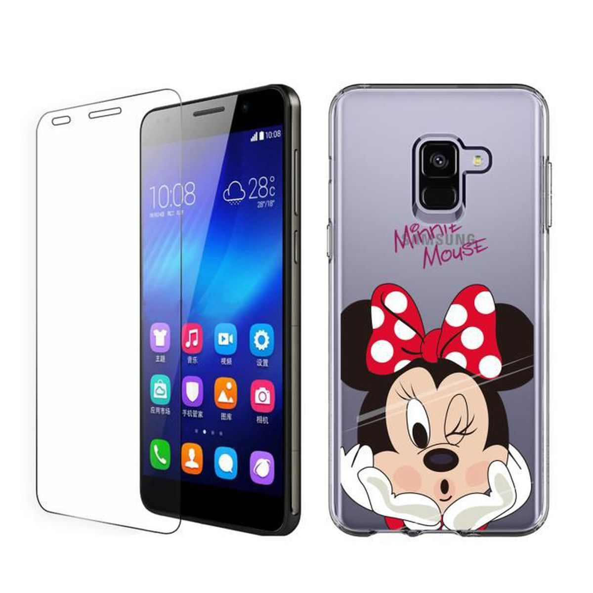 coque de samsung a6 stitch