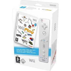 JEU WII Wii PLAY (télécommande Wiimote blanche incluse) /