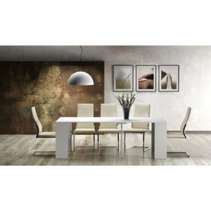 CONSOLE EXTENSIBLE Goomy Table console extensible - Style contemporai