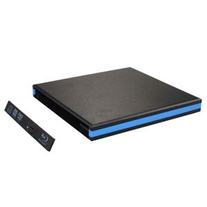 CD - DVD VIERGE USB 3.0 Boîtier Boîtier externe pour CD Blu Ray DV