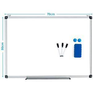 TABLEAU - PAPERBOARD Tableau Blanc Magnétique 70x50 cm Effaçable Surfac