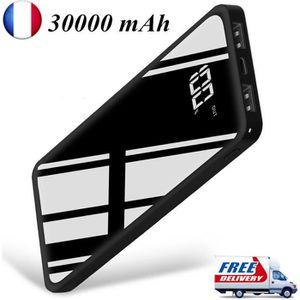 BATTERIE EXTERNE ARIO®30000mAh miroir de batterie externe élégant L