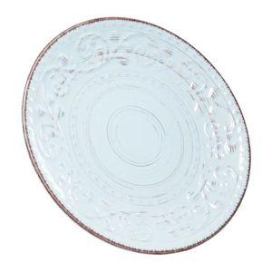 Assiettes creuses Swirl Blue 21cm set de 4 Kare Design