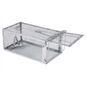 CHASSE - PIÈGE INSECTES Cage Piège Souris Rat Rongeur métal vivre piège fa