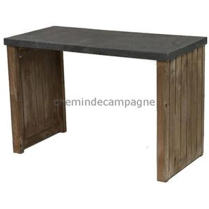 console meuble 60 cm achat vente console meuble 60 cm pas cher cdiscount. Black Bedroom Furniture Sets. Home Design Ideas