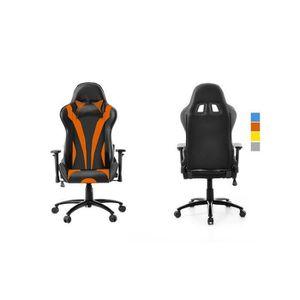 SIÈGE GAMING Chaise fauteuil de Bureau Racing pour Gaming Orang