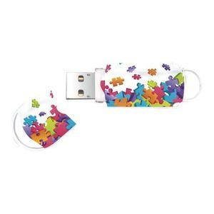 CLÉ USB INTEGRAL  Clé USB Xpression Pattern Puzzle - 8 Go