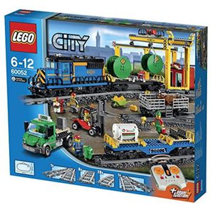 ASSEMBLAGE CONSTRUCTION Jeu D'Assemblage LEGO EOW54 60052 City Cargo Train