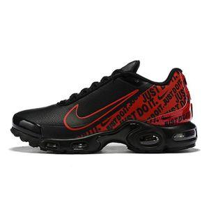 BASKET Nike Air Max Plus TN SE Noir Rouge Chaussures De C