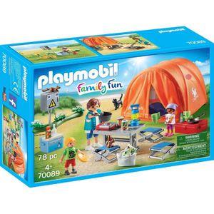 UNIVERS MINIATURE PLAYMOBIL 70089 - Family Fun Le Camping - Tente et